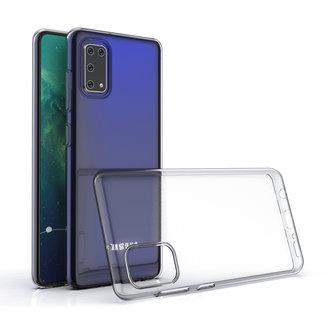 xlmobiel.nl Samsung Galaxy A41 Transparant Backcover hoesje - silicone