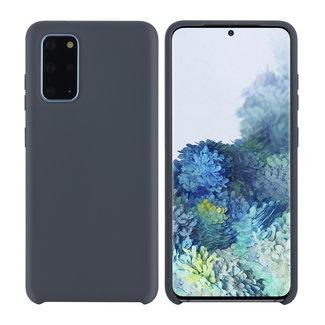 xlmobiel.nl Samsung Galaxy S20 Plus Grijs Backcover hoesje - silicone