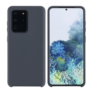 xlmobiel.nl Samsung Galaxy S20 Ultra Grijs Backcover hoesje - silicone