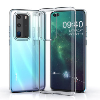 xlmobiel.nl Huawei P40 Pro Transparant Backcover hoesje - silicone