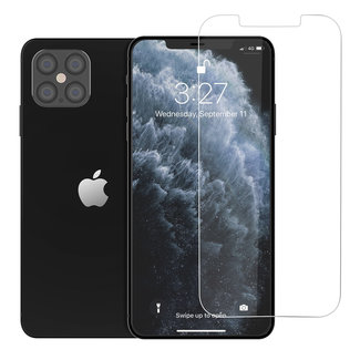 xlmobiel.nl Apple iPhone 12 Pro Max Transparant Screenprotector - Tempered Glas