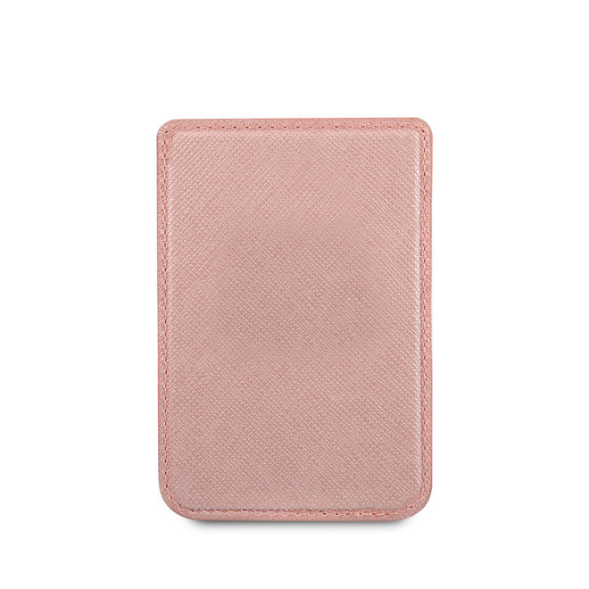 Guess Wallet Cardslot with Magsafe - 2 Cards - Saffiano PU - Roze