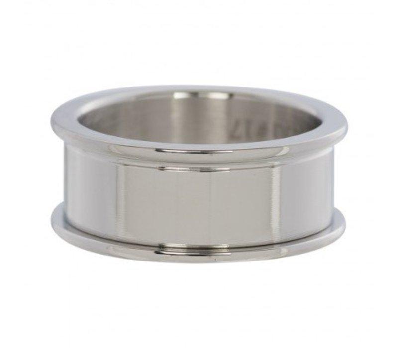 IXXXI Basisring 8 mm silber