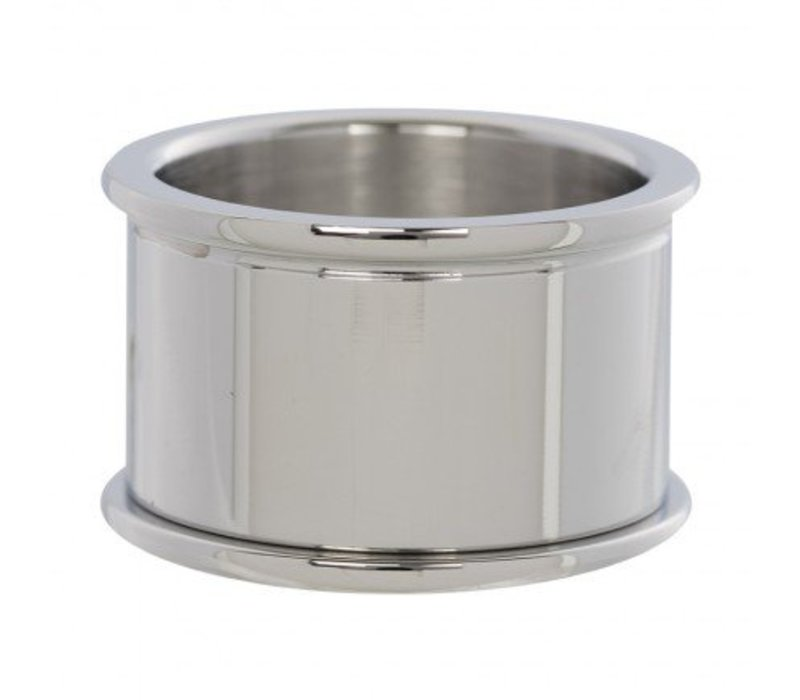 IXXXI Basisring 12 mm silber
