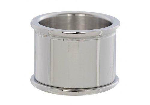 IXXXI Basisring 16 mm silber