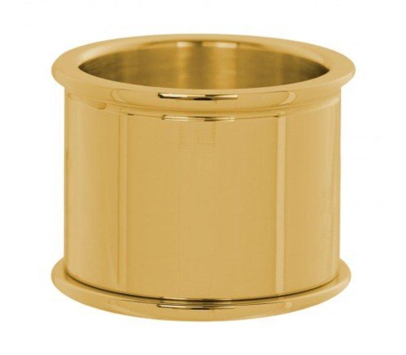 IXXXI Basisring 16 mm gold