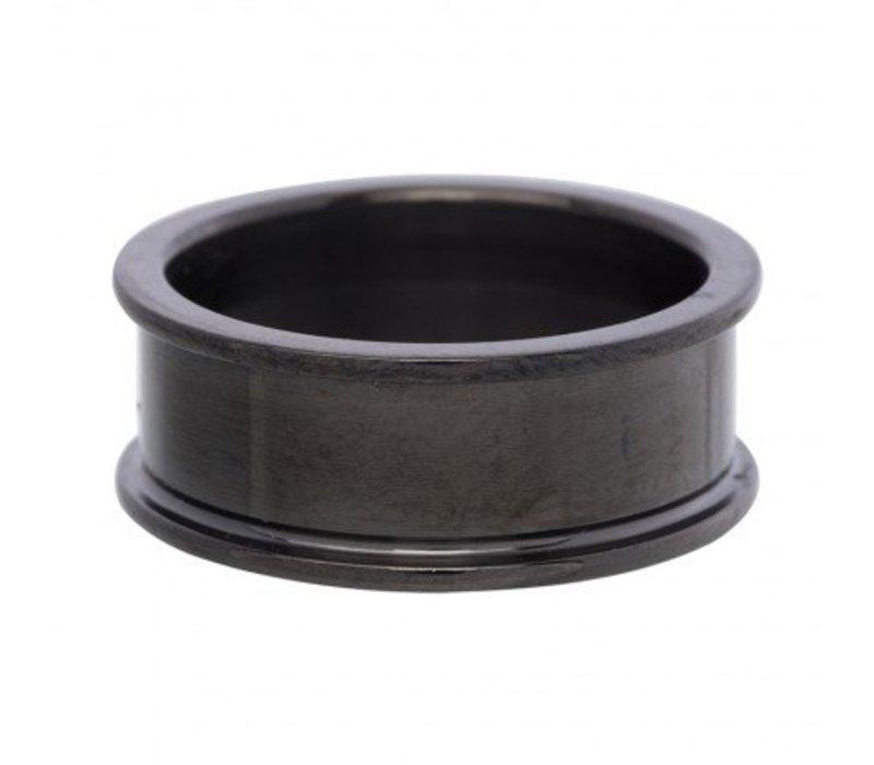 IXXXI Basisring 8 mm schwarz