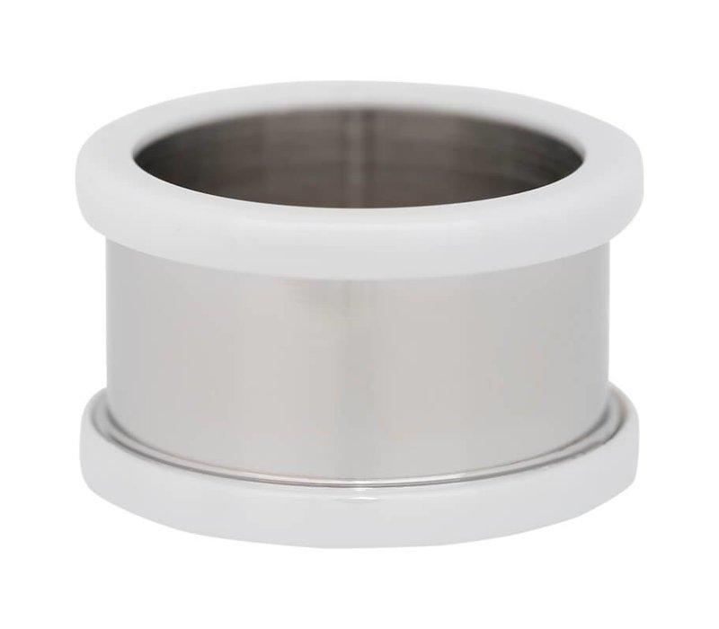 IXXXI Basisring 10 mm Keramik silber