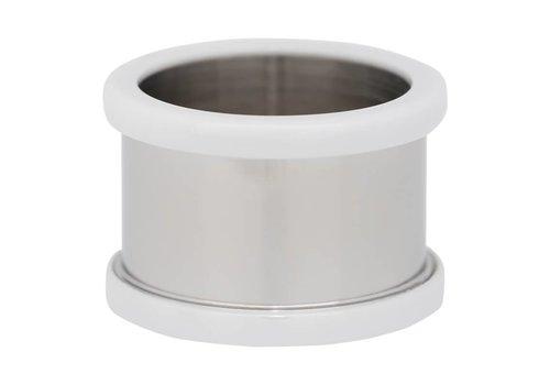 IXXXI Basisring 12 mm Keramik silber