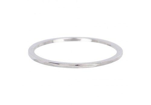 iXXXi Füllring 1 mm Wave silber