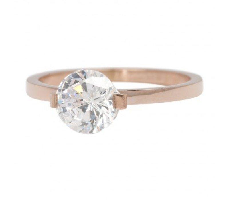iXXXi Füllring 2 mm Glamour Stone rosegold