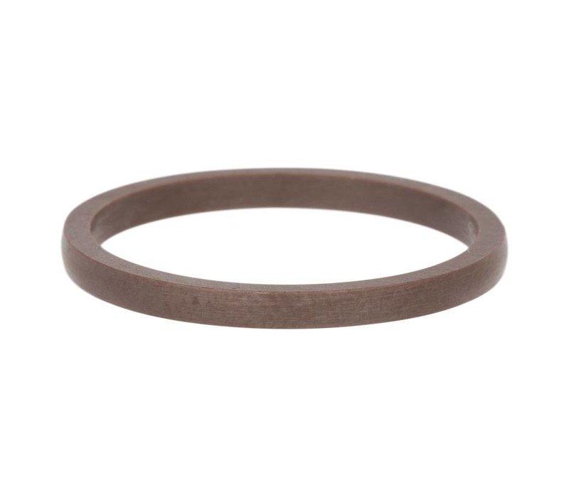 iXXXi Füllring 2 mm Keramik braun