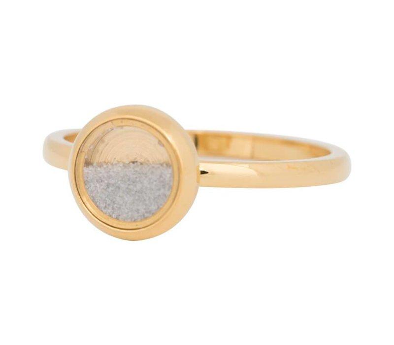 iXXXi Füllring 2 mm White Sand gold