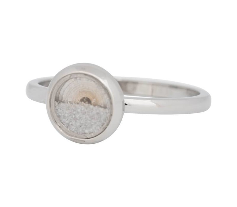 iXXXi Füllring 2 mm White Sand silber