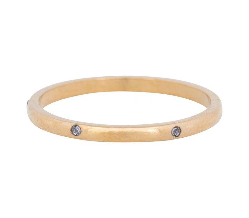 iXXXi Füllring 2 mm Elegance gold
