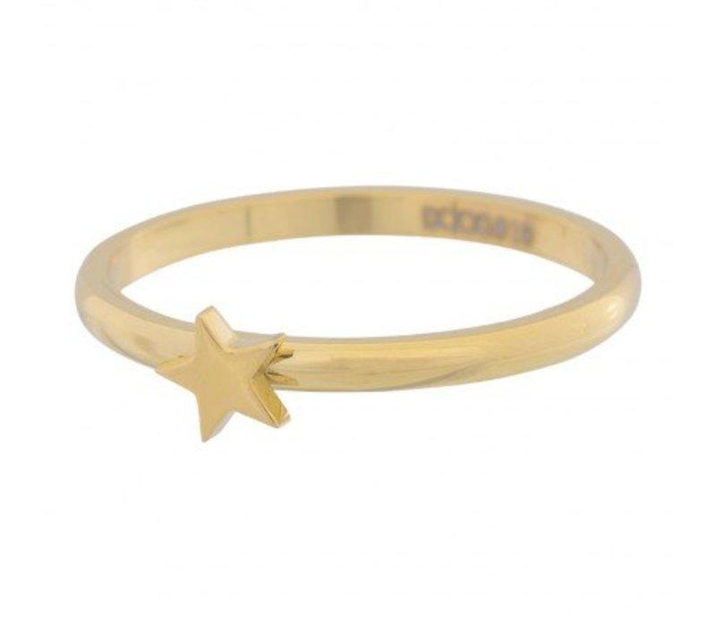 iXXXi Füllring 2 mm Stern gold