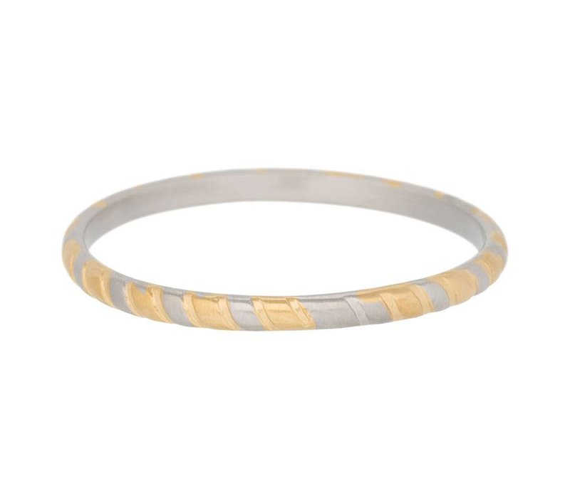 iXXXi Füllring 2 mm Bicolor silber gold