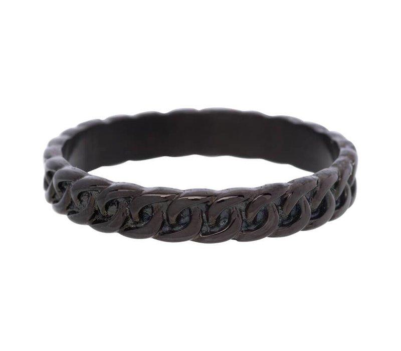 iXXXi Füllring 4 mm Curb chain schwarz