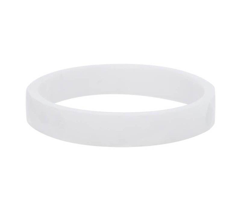 iXXXi Füllring 4 mm Keramik facettiert weiß