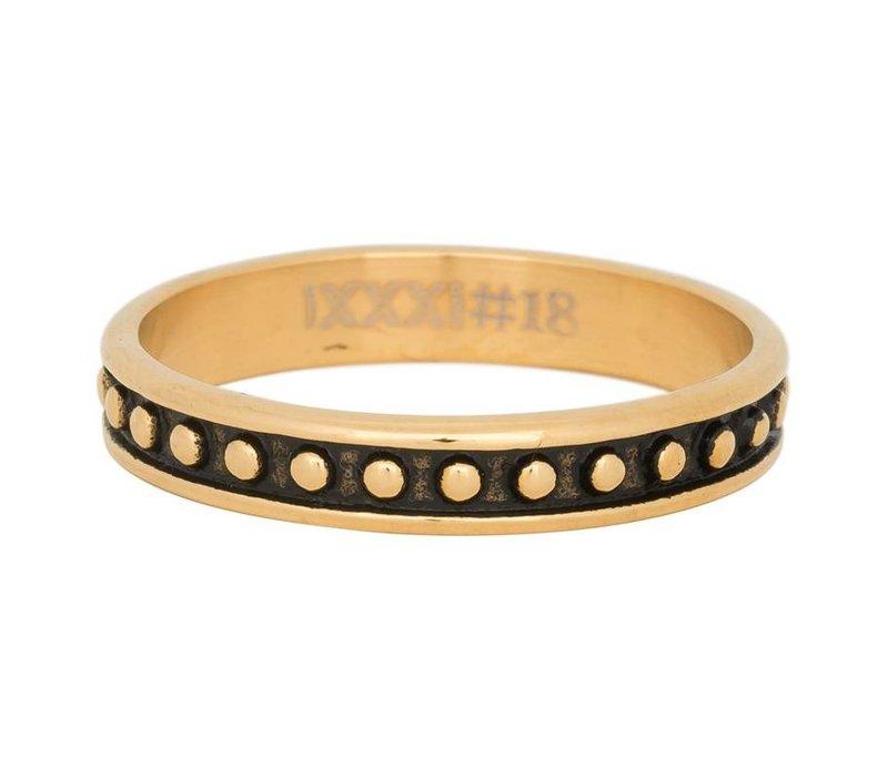 iXXXi Füllring 4 mm Ball Bear gold