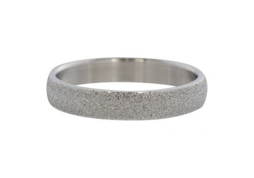 iXXXi Füllring 4 mm Sandgestrahlt silber