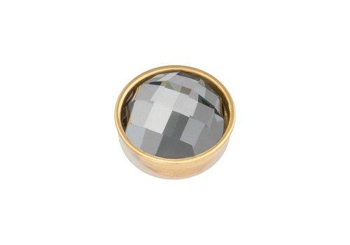 iXXXi Top Part Facet Black Diamond gold