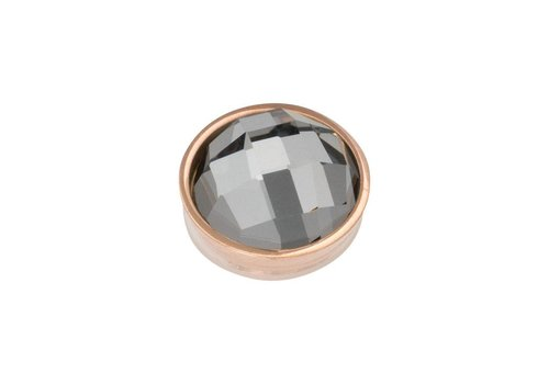 iXXXi Top Part Facet Black Diamond rosegold