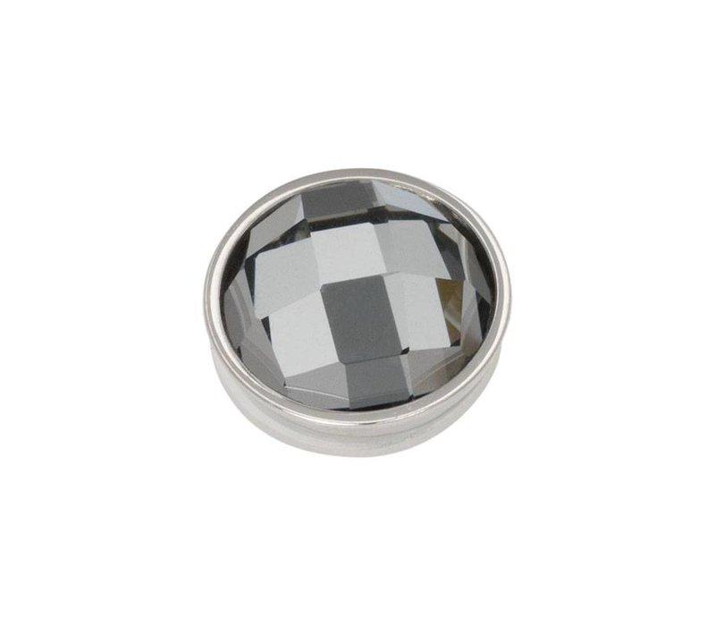 iXXXi Top Part Facet Black Diamond silber