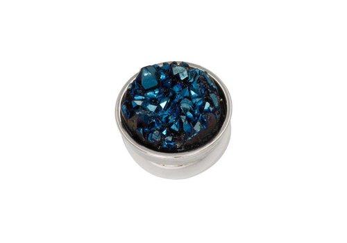 iXXXi Top Part Drusy Dark Blue silber