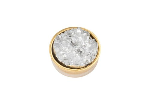 iXXXi Top Part Drusy Crystal gold