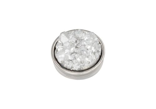 iXXXi Top Part Drusy Crystal silber