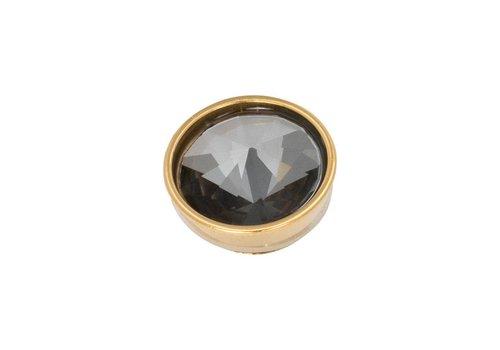 iXXXi Top Part Pyramid Black Diamond gold