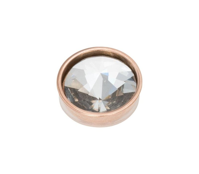 iXXXi Top Part Pyramid Crystal rosegold