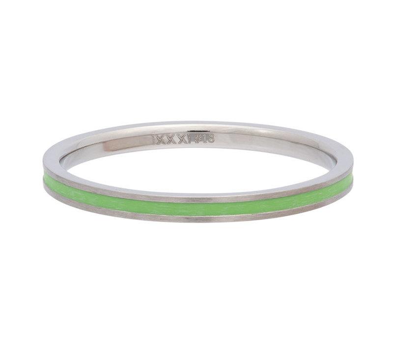 iXXXi Füllring 2 mm Line Green