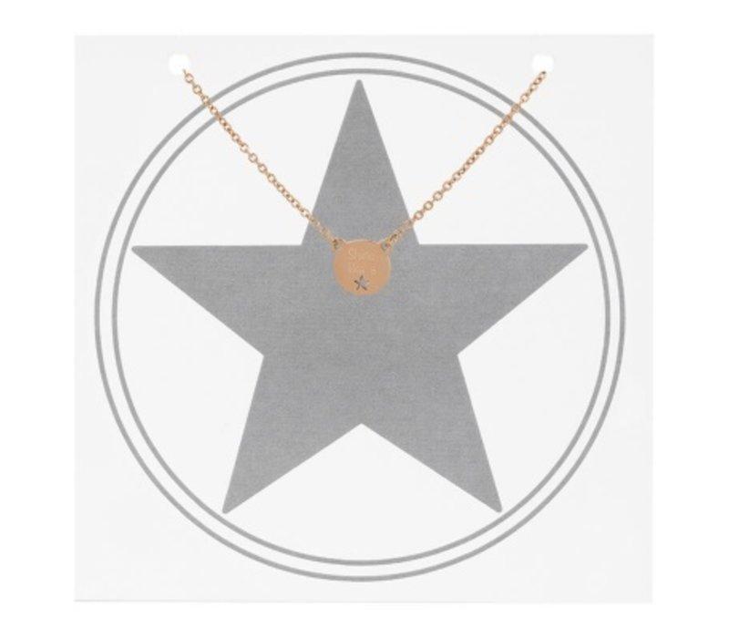 iXXXi Halskette Shine like a star rosegold