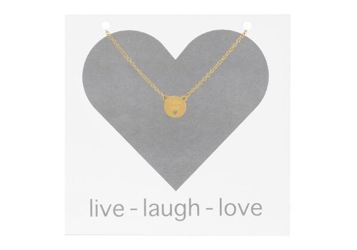 iXXXi Halskette Follow your heart gold