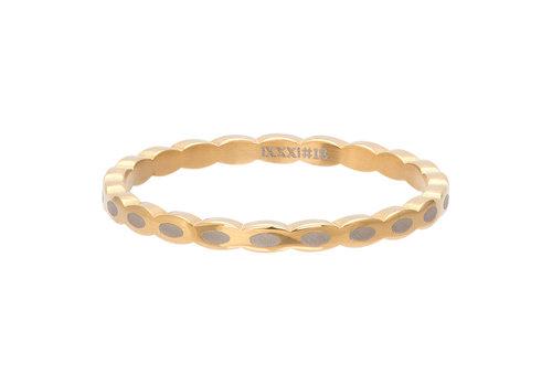 iXXXi Füllring 2 mm Oval Shape gold