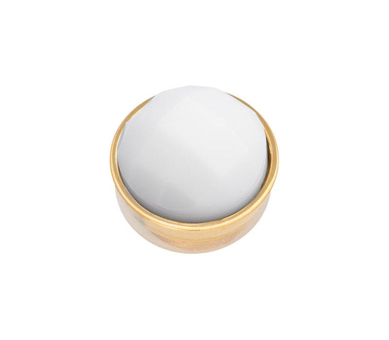 iXXXi Top Part Facet White gold