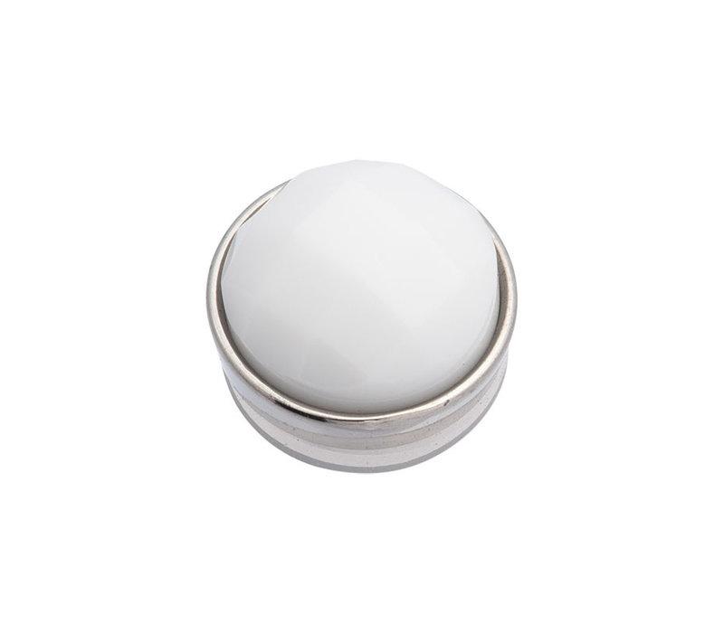 iXXXi Top Part Facet White silber
