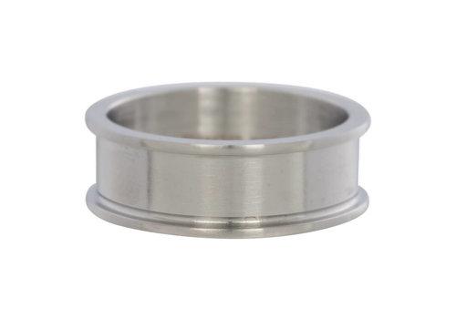 iXXXi Herren Basisring 8 mm silber