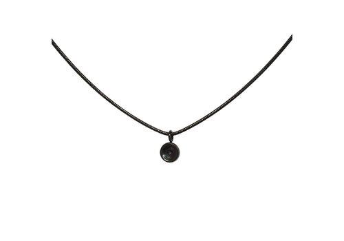 iXXXi Halskette Snake Top Part Base schwarz 40 cm