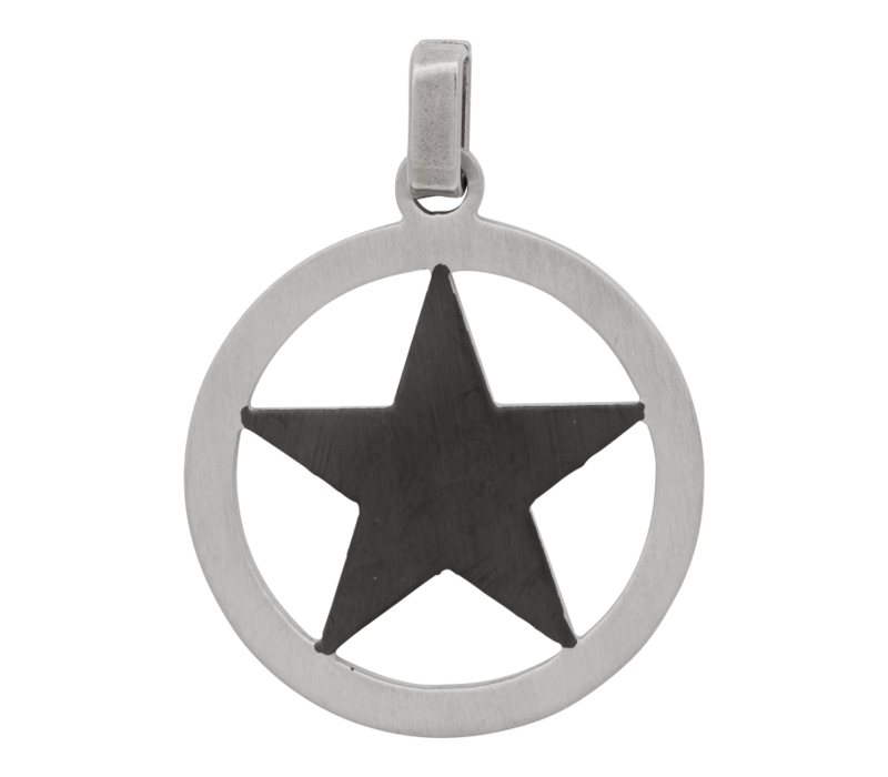 iXXXi Herren Kettenanhänger Star schwarz