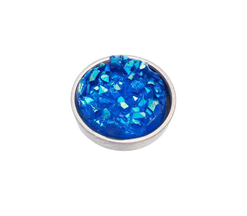 iXXXi Top Part Drusy Blau silber