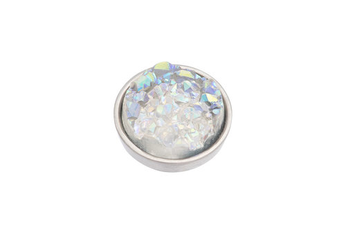 iXXXi Top Part Drusy AB silber