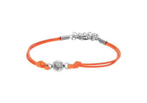 iXXXi Fußkettchen Top Part Base 'Wax Cord' orange