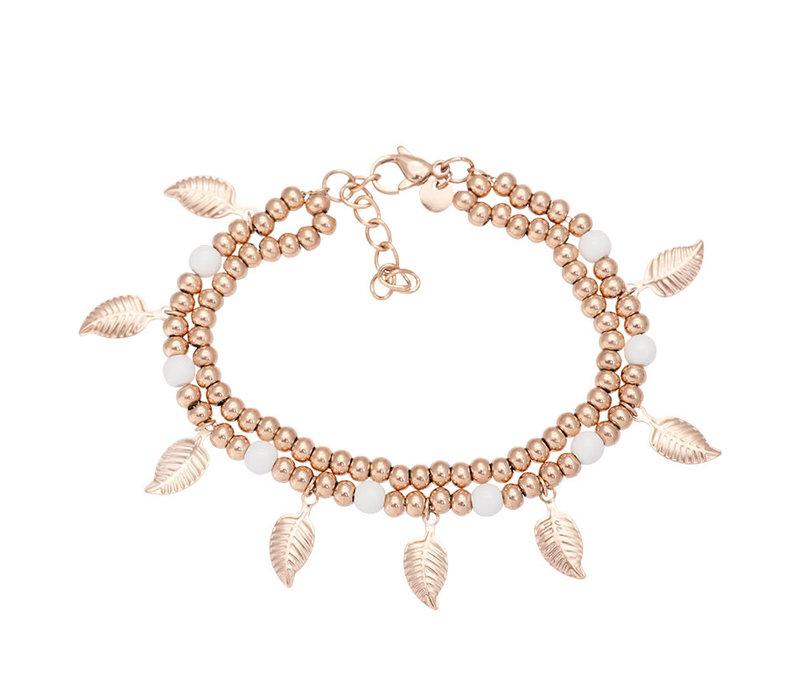 iXXXi Armband Dazzling Leaves rosegold