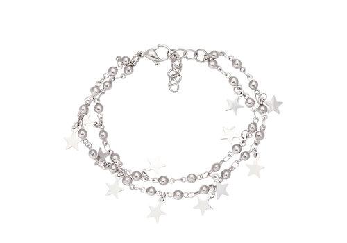 iXXXi Armband Dazzling Stars silber