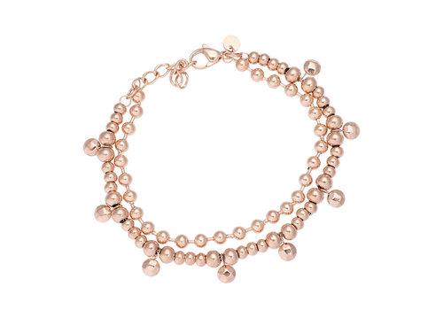 iXXXi Armband Dazzling Circles rosegold