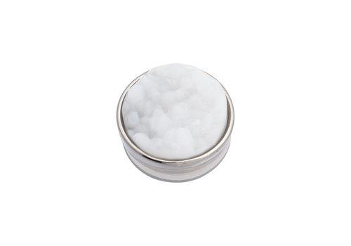 iXXXi Top Part Drusy Weiß silber