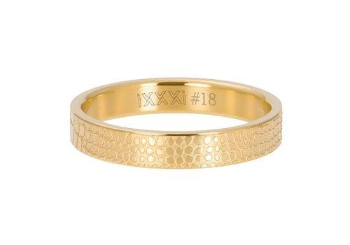 iXXXi Füllring 4 mm Giraffe gold